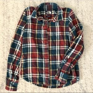 The North Face Women's Plaid Flannel Size S